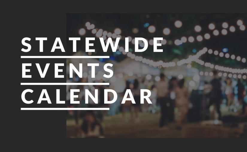 OCTOBER 2021 EVENTS CALENDAR