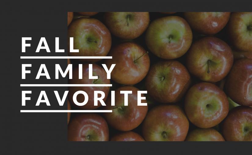 Family Favorite Fall Dessert